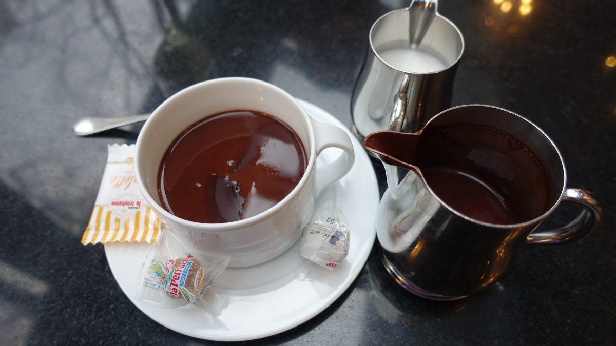 巴黎的熱巧克力