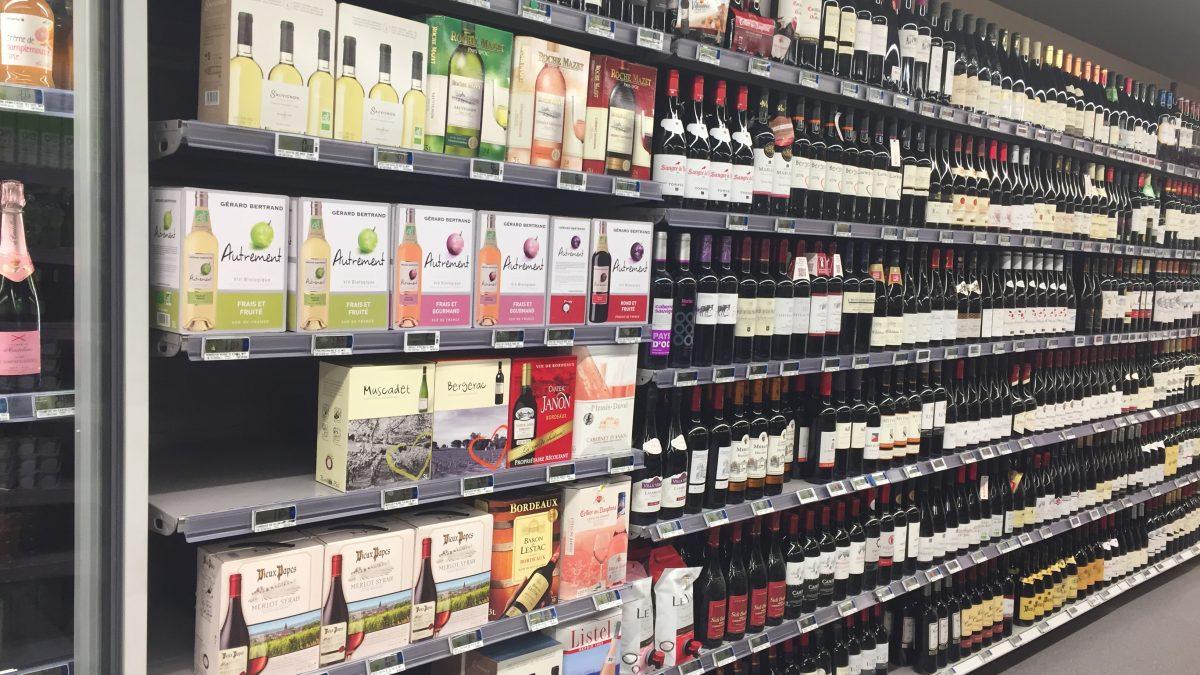法國超市的奇怪現象